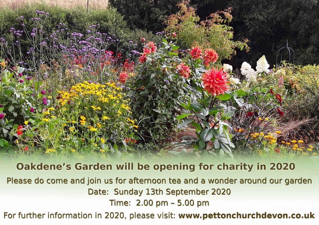 Open garden 2020